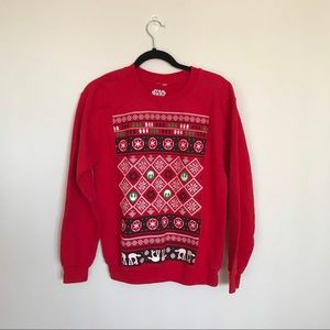 Star Wars Christmas Ugly Sweater in Small